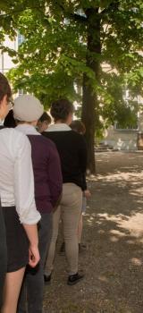 Spectacle itinérant - Le jardin et la cour des tilleuls