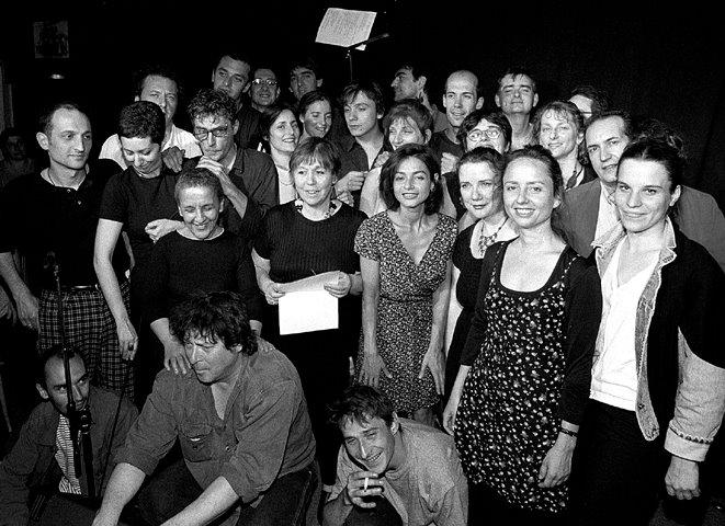 Atelier d'écriture d'Allain Leprest 1999 - Photo d'Alain Landrain