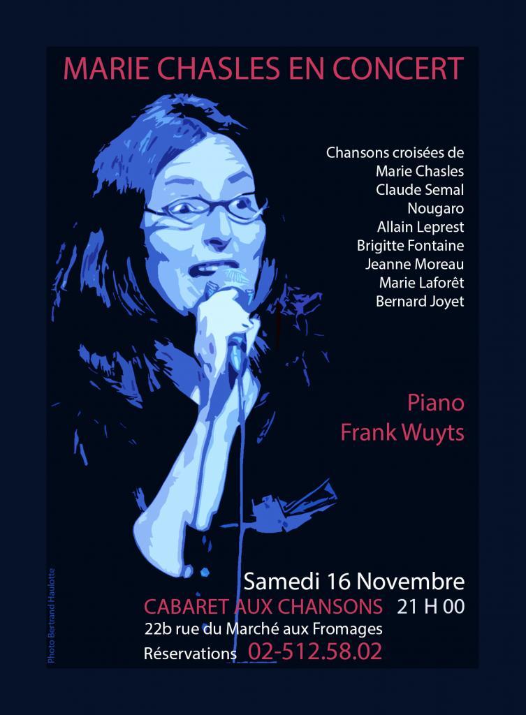 16 novembre 2013 - Cabaret aux chansons - Bruxelles