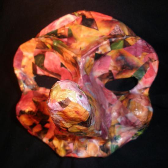 Les créations de masques de Marie Chasles