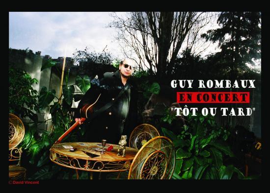 Carte postale - Guy Rombaux - Tôt ou tard Recto