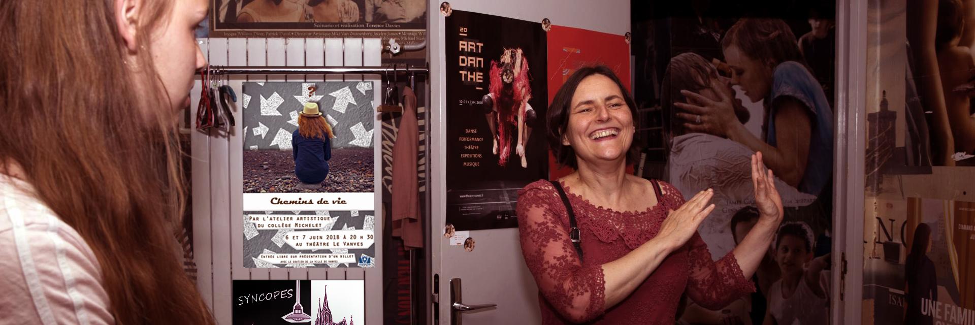 Marie Chasles, metteur en scène, artiste intervenant en milieu scolaire, chanteuse, etc...