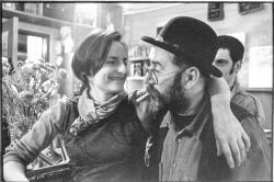 Avec Denis van Hecke, au Limonaire, 1999